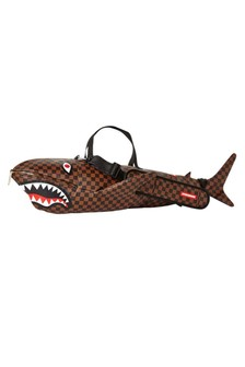 Brown Sharks In Paris Duffle Bag