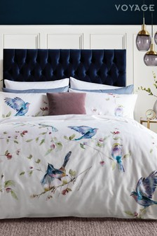 Voyage Spring Flight Duvet Cover And Pillowcase Set