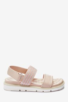 Nude Forever Comfort® Lite Two Band Sandals