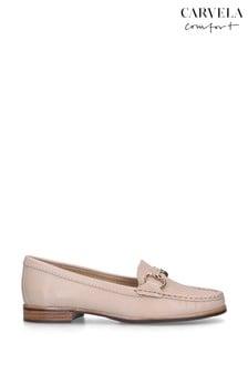 Carvela Comfort Click Nude Loafers