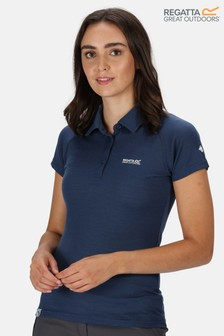 Regatta Womens Kalter Polo T-Shirt With Merino Wool