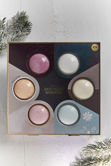Set of 6 Fragrance Bath Bombs Gift Set