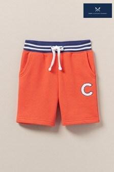 Crew Clothing Orange Jersey Shorts