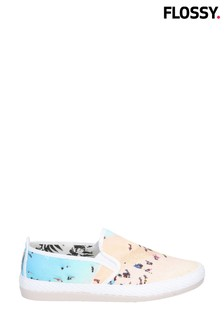 Flossy Pastel Slip-On Shoes