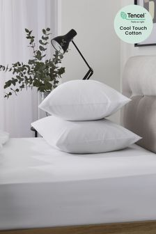 Set of 2 Cool Touch TENCEL™ Blend Fitted Pillowcases