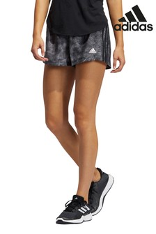 adidas Pacer 3 Stripe Floral Shorts