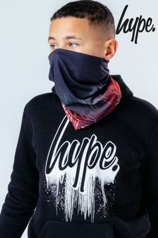 Hype. Red Drip Rose Multifunctional Headwear