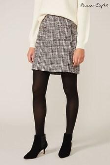Phase Eight Pink Marissa Tweed Skirt