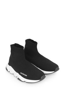 Black Logo Speed Trainers