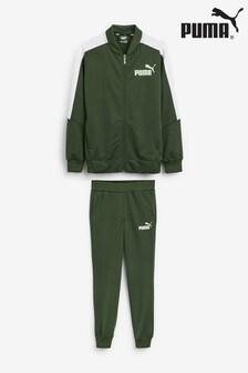 Puma® Boys Green Baseball Tricot Tracksuit