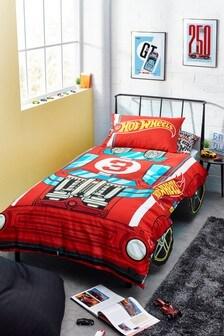 Hot Wheels Duvet Cover and Pillowcase Set