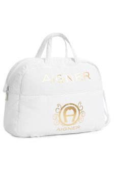 Aigner Baby White Changing Bag