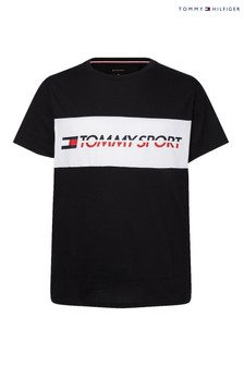 Tommy Sport Logo Band T-Shirt