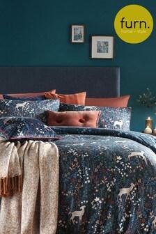 Richmond Duvet Cover and Pillowcase Set by Furn