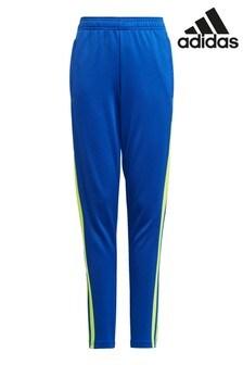 adidas Blue/Yellow Squad 21 Pants
