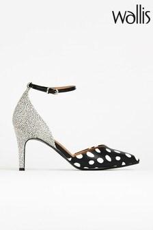 Wallis Cordelia Black Ankle Shoes