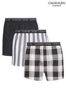 Calvin Klein Grey Slim Fit Boxers