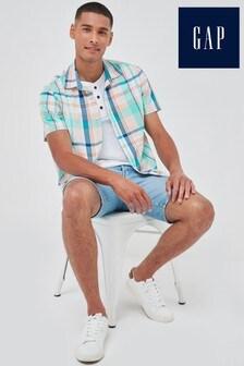 Gap Short Sleeve Poplin Shirt