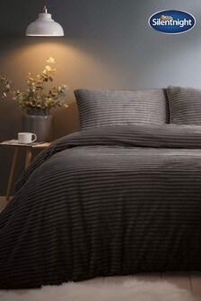 Jumbo Cord Silentnight Duvet Cover And Pillowcase Set