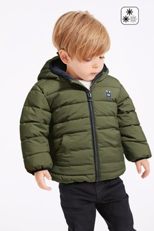 Khaki Padded Jacket (3mths-7yrs)