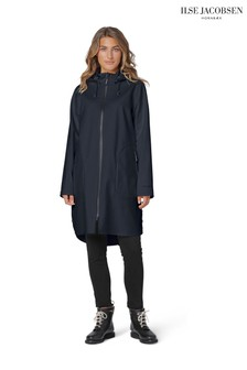 Ilse Jacobson Dark Indigo Softshell Waterproof Raincoat
