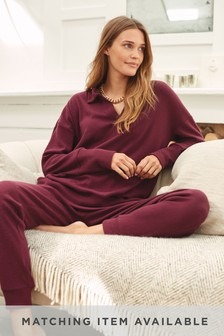 Berry Supersoft Collared Tunic
