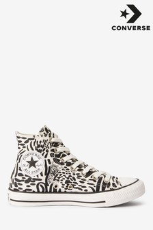 Converse Jungle Print High Trainers