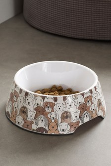 Printed Dog Bowl