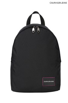 Calvin Klein Jeans Black Round Backpack