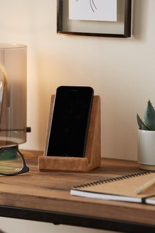 Bronx Faux Leather Phone Holder