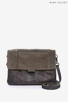 Mint Velvet Ellis Metallic Cross Body Bag