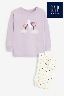Gap Unicorn Pyjamas Two Piece Set