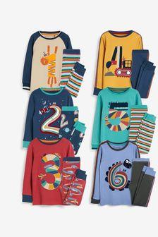 Blue/Tan 'I am Age' Snuggle Fit Pyjamas