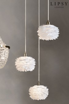 Lipsy Feather 3 Light Cluster Fitting