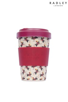 Radley London Pink Wrapped Up Bamboo Coffee Cup