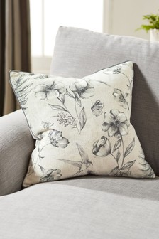 Ordelia Embroidery Floral Cushion