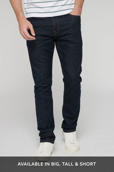 Dark Ink Slim Fit Jeans With Stretch