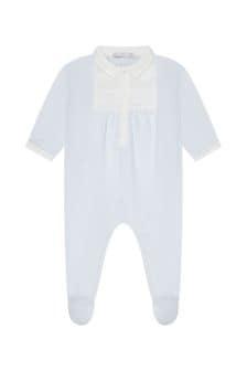 ثوب مناسب لنمو البيبي قطن أزرقللأولاد البيبي