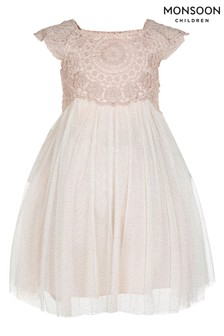 Monsoon Pink Baby Estella Dress