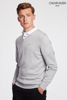 Calvin Klein Golf Easy Care Merino Sweater