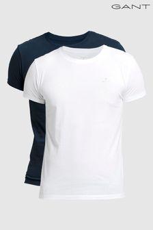 GANT Crew Neck T-Shirts 2 Pack