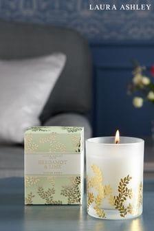 Laura Ashley Bergamot And Lime Candle