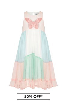 Girls Multicoloured Dress