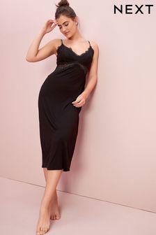 Black Lace Slip