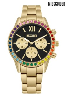 Missguided Boyfriend Style Bracelet Watch