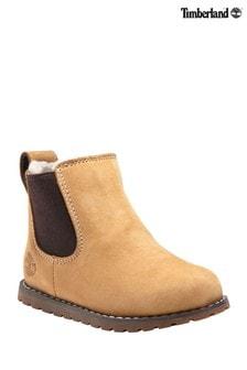 Timberland® Pokey Pine Warm Lined Nubuck Chelsea Boots