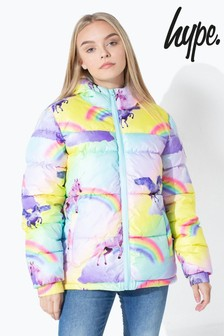 Hype. Unicorn Kids Padded Jacket