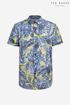 Ted Baker Upward Leaf Print Shirt