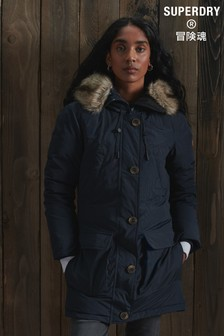Superdry Rookie Down Parka Coat