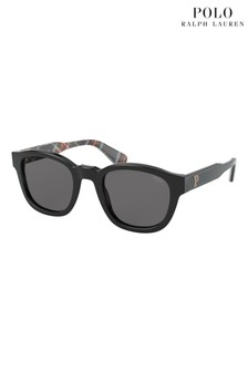Polo Ralph Lauren Black/Grey Sunglasses